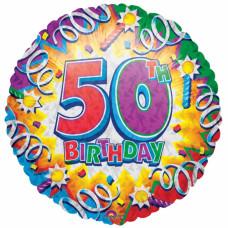50th Birthday Balloon
