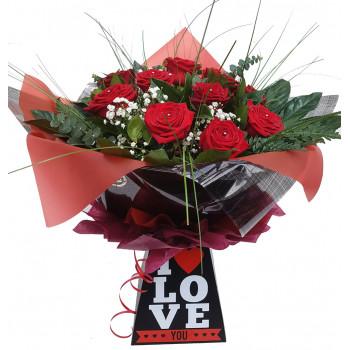 One Dozen Best Large Headed Roses