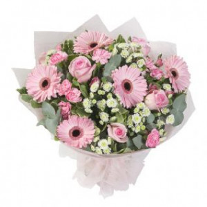 Baby Girl Hand-tied bouquet