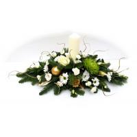 Christmas Candle Arrangement