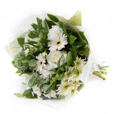 White & Cream Tied Bunch