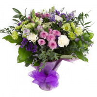 Purple Haze Hand-tied Bouquet