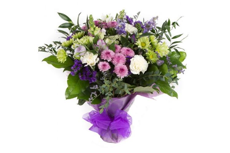 Purple Haze Hand-tied Bouquet