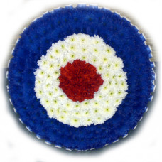 RAF badge tribute