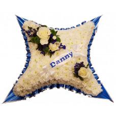 Everton Blue & White Cushion