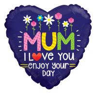 Mum I Love You Balloon