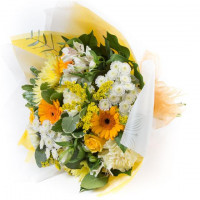 Harvest Gift Wrapped Bouquet