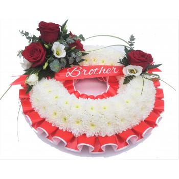 Massed Wreath - Red