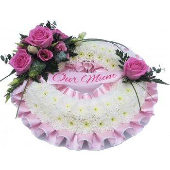 Massed Wreath - Pink