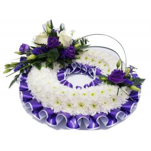 Massed Wreath - Purple